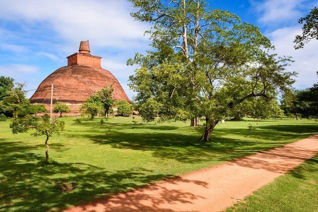 Jetawana Monasteries - south asia tours 23 days