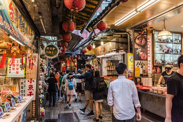 Jiufen Old Street - taiwan tour packages