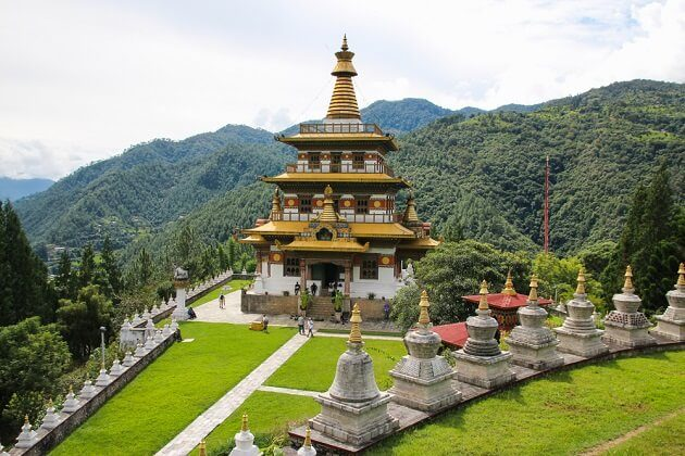 Khamsum Yulley Namgyal Chorten - best classic tour in bhutan