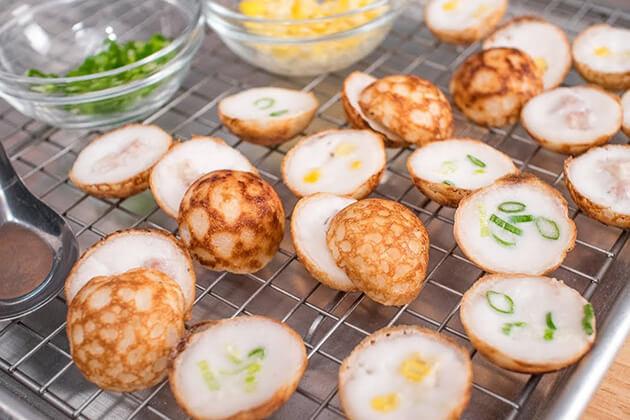 Khanom Krok - laos food