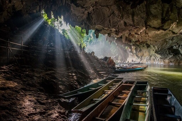 Kong Lor Cave - laos vacation