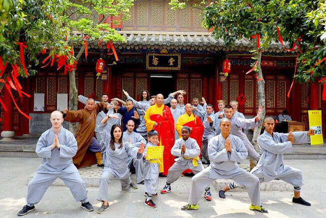 Kungfu at Shaolin Temple - china vacation