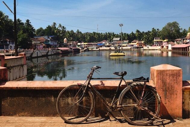 Laccadive Sea india cycling