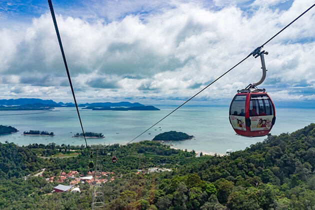 Langkawi Cable Car - malaysia vacation packages
