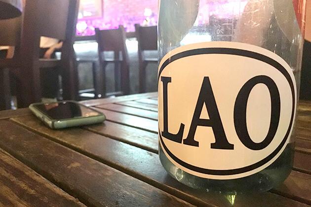 Lao sticker