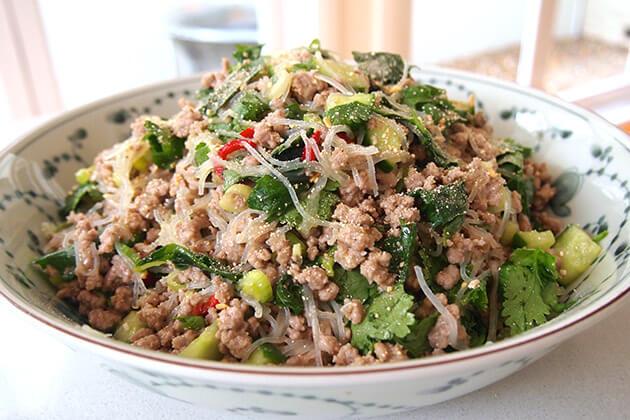 Larb - laos food