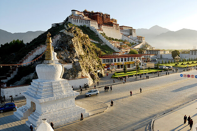 Legendary Potala Palace - bhutan nepal tibet travel