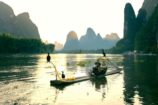 Li River - east asia trip