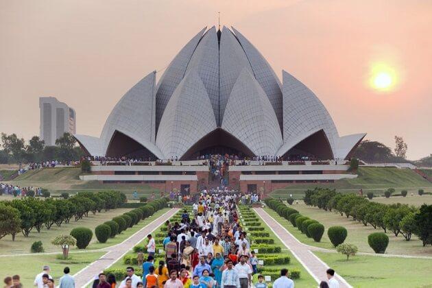 Lotus Temple - india wildlife safari