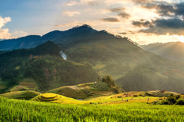 Mam Xoi hill area - vietnam adventure tours