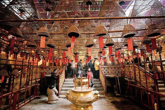 Man Mo Temple - hong kong vacation