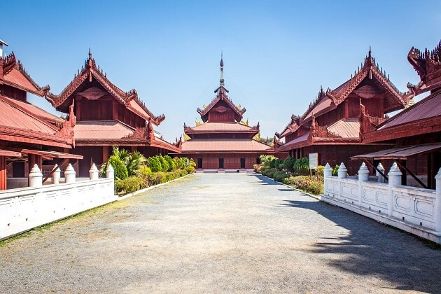 Mandalay Palace - myanmar tour packages