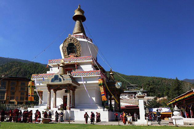 Memorial Chorten - bhutan nepal and tibet tours