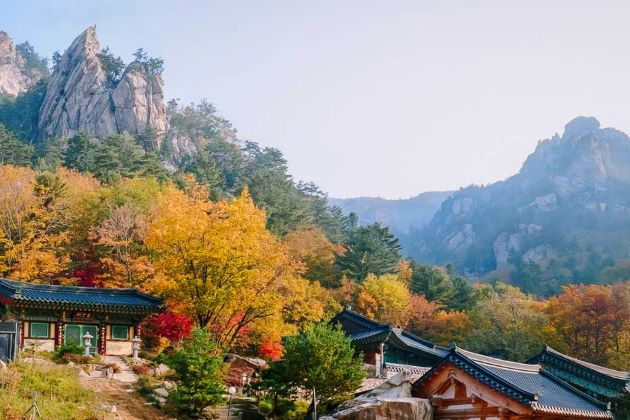 Mount Seorak National Park in south korea
