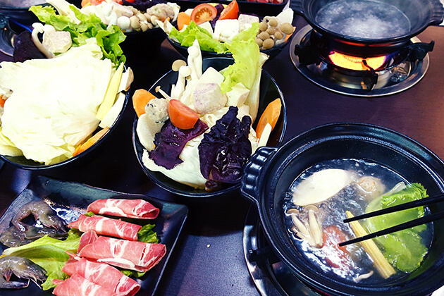 Mushroom Hotpot in Yilan - best taiwan vacation