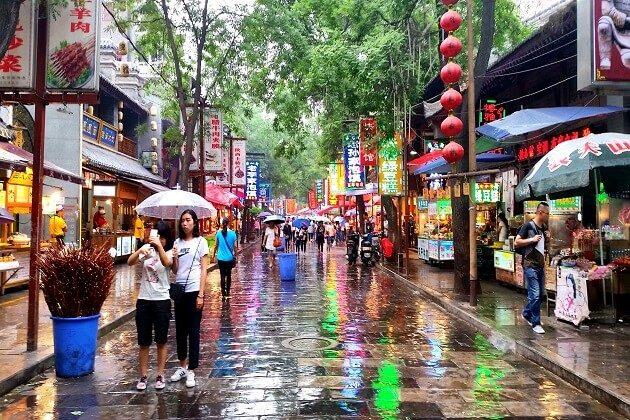 Muslim Quarter - 2 week itinerary for china