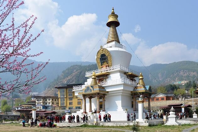 National Memorial Chorten - best bhutan classic tour