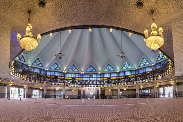 National Mosque - malaysia tours