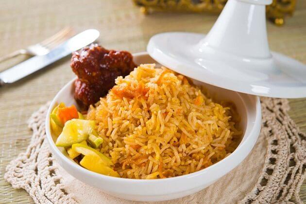 Nga Htamin - famous myanmar traditional food