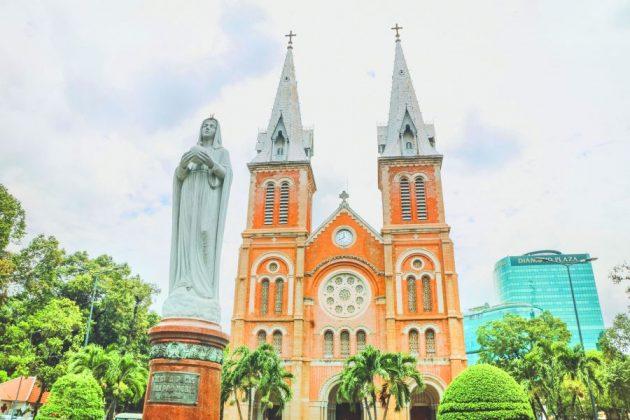 Notre Dame Cathedral saigon