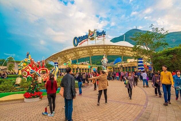 Ocean Park Hong Kong - best east asia travel