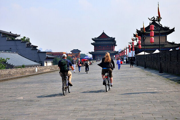 Old City Walls of Xian - tours to china