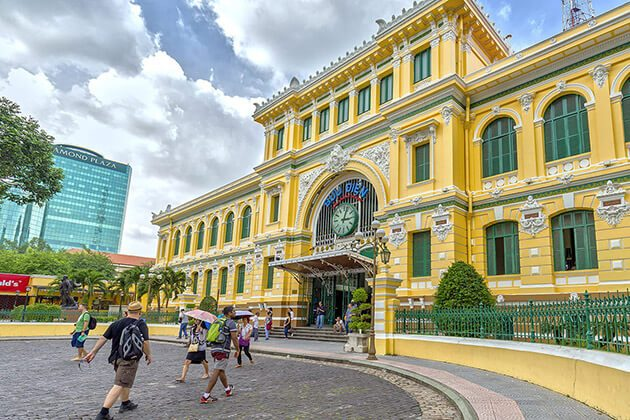 Old Saigon Post Office - best indochina itinerary