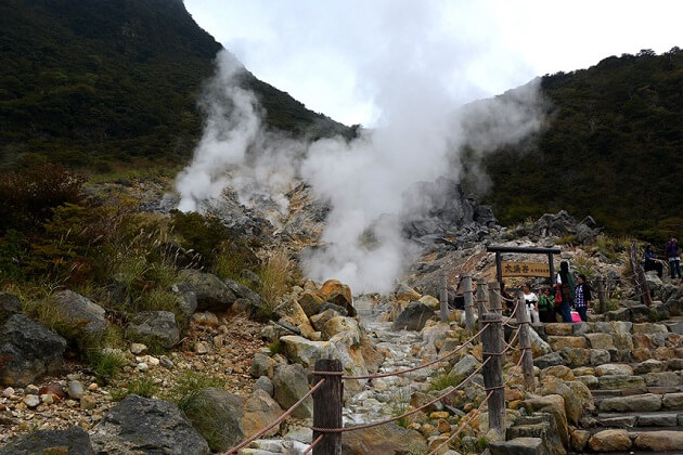 Owakudani Boiling Valley - east asia tour packages