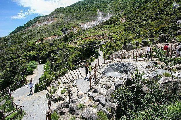 Owakudani Valley - east asia travel