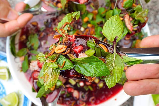 Paeng Pet - best laos food