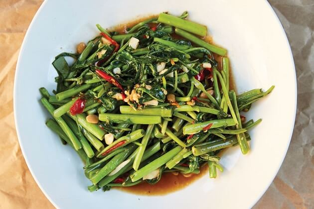 Pak Boong - thailand food veg
