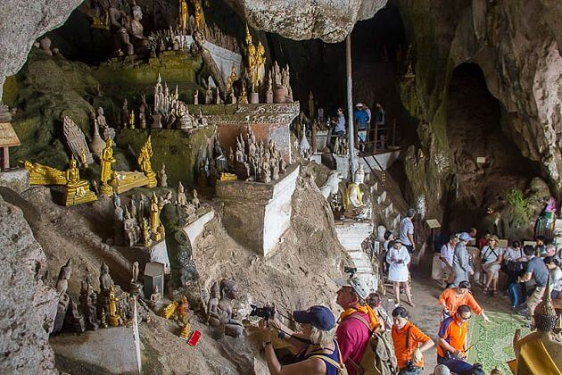 Pak Ou Caves - family package to Indochina