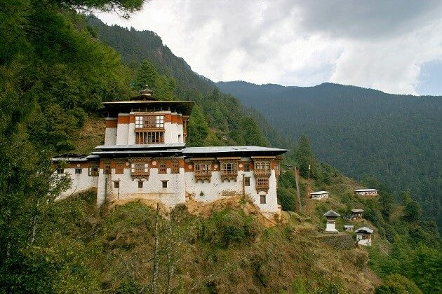 Pangri Zampa Gompa - 2 weeks in south asia