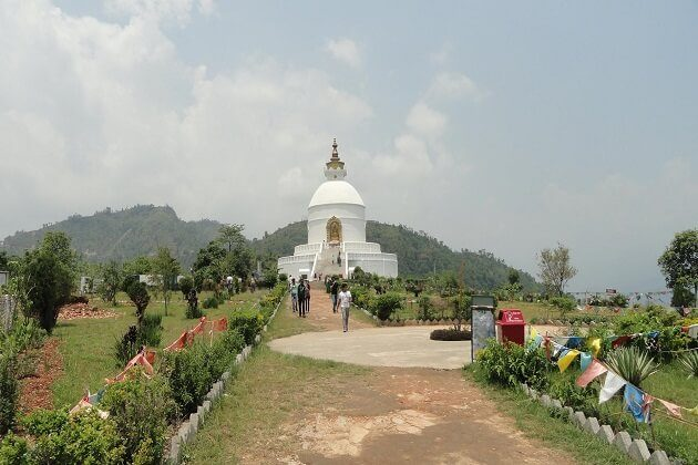 Peace Stupa - 6 days nepal classic tour