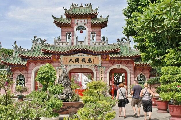 Phuc Kien Assembly Hall - vietnam day trips