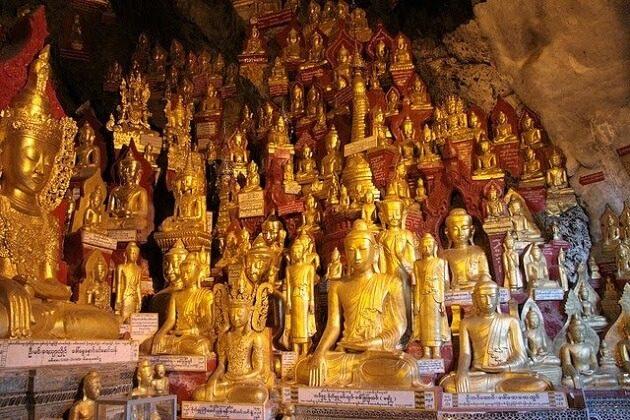Pindaya Caves - myanmar itinerary 14 days