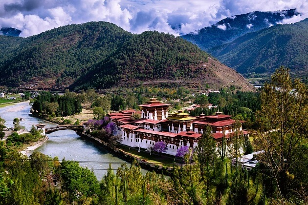 Punakha Dzong - bhutan tour packages