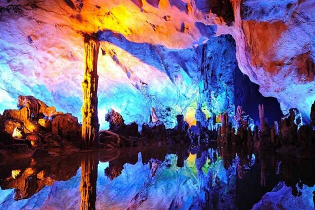 Reed Flute Cave - trip to east asia