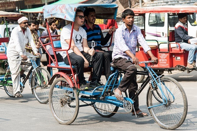 Rickshaw Ride - india