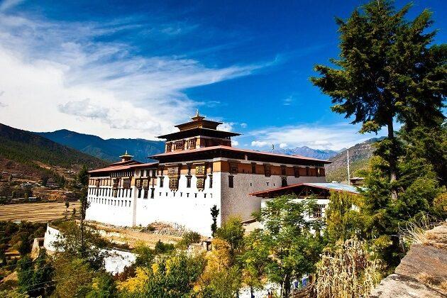 Rinpung Dzong - south aisa trip