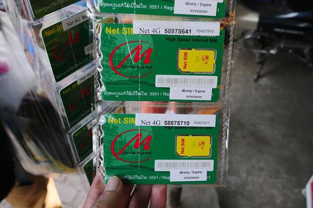 best sim card in laos