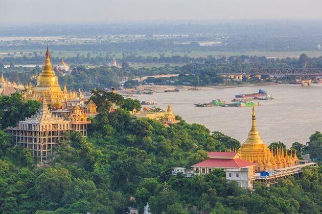Sagaing Temples - 2 week trip myanmar