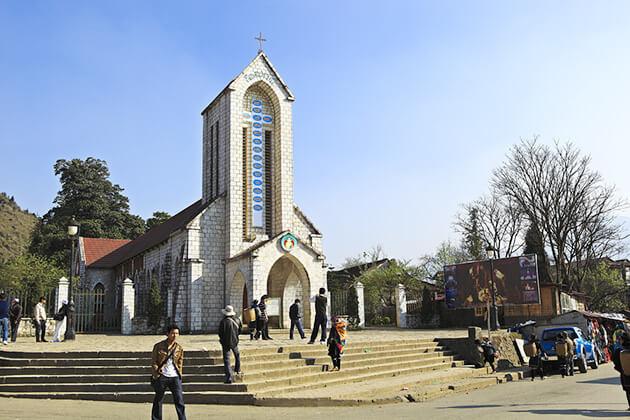 Sapa Stone Church - indochina itinerary 3 weeks