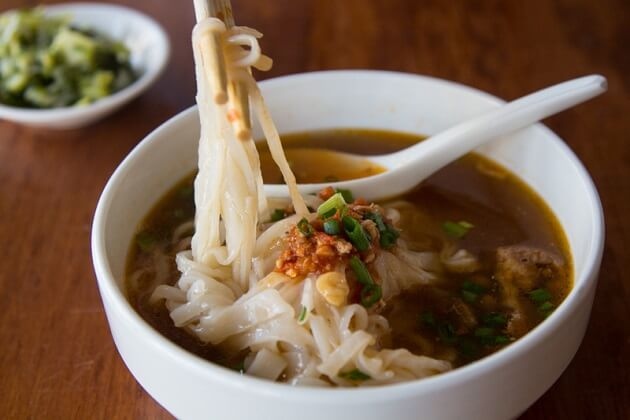 Shan Noodle - myanmar traditional food