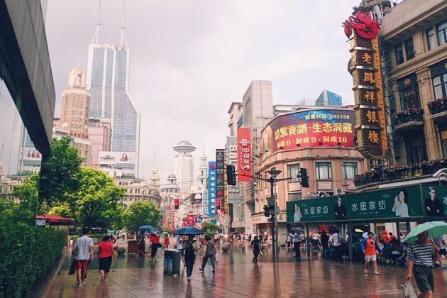Shanghai city - china 2 week trip