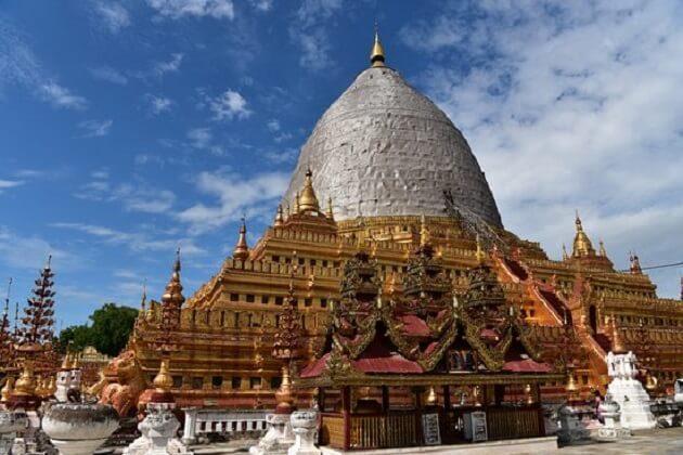 Shwezigon Paya - myanmar 2 week tour