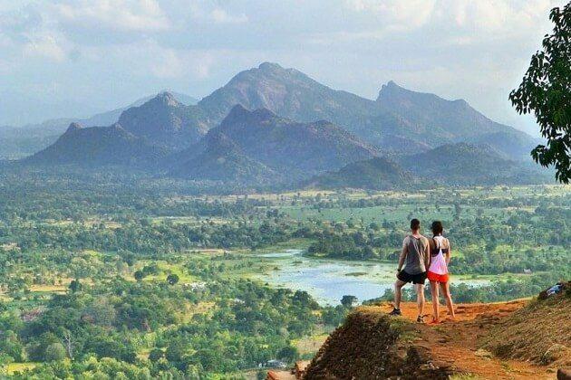 Sigiriya Rock Fortress - sri lanka adventure trip