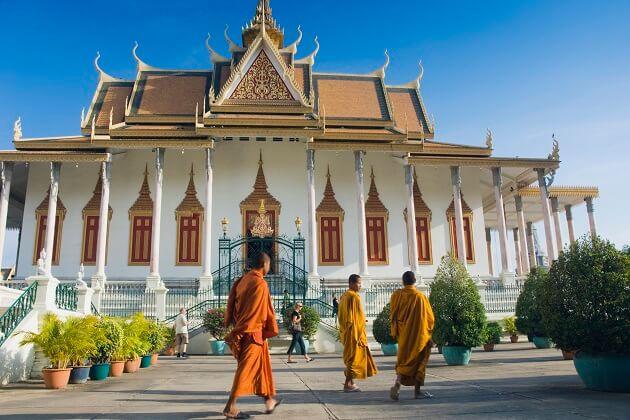 Silver Pagoda- cambodia family holiday