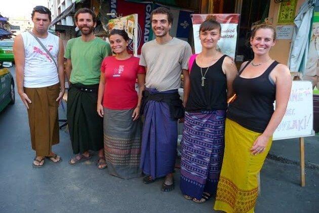Strive Traditional Burmese Attire - myanmar vacation