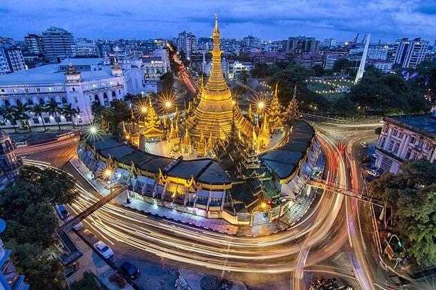 Sule Pagoda - best myanmar vacation packages